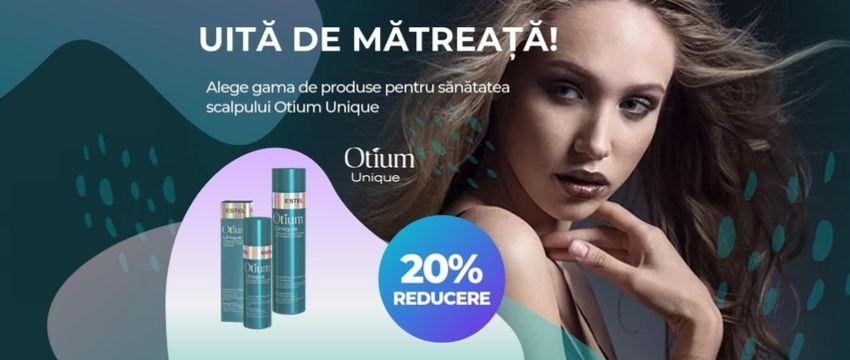 Oferta reducere tratament sampon si tonic anti-matreata pentru scalp iritat si sebo-control otium unique