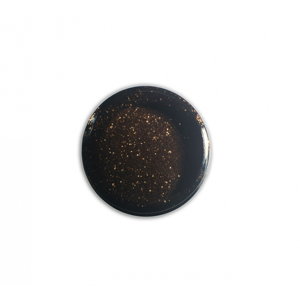 "96603Sclipici pentru unghii ""Didier Lab"", brown 2,5g/Nail glitter ""Didier Lab"", brown"