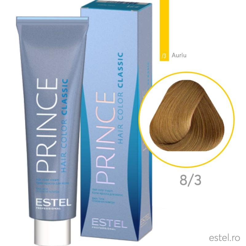 Prince Vopsea permanenta pentru par 8/3 Blond deschis auriu 100 ml