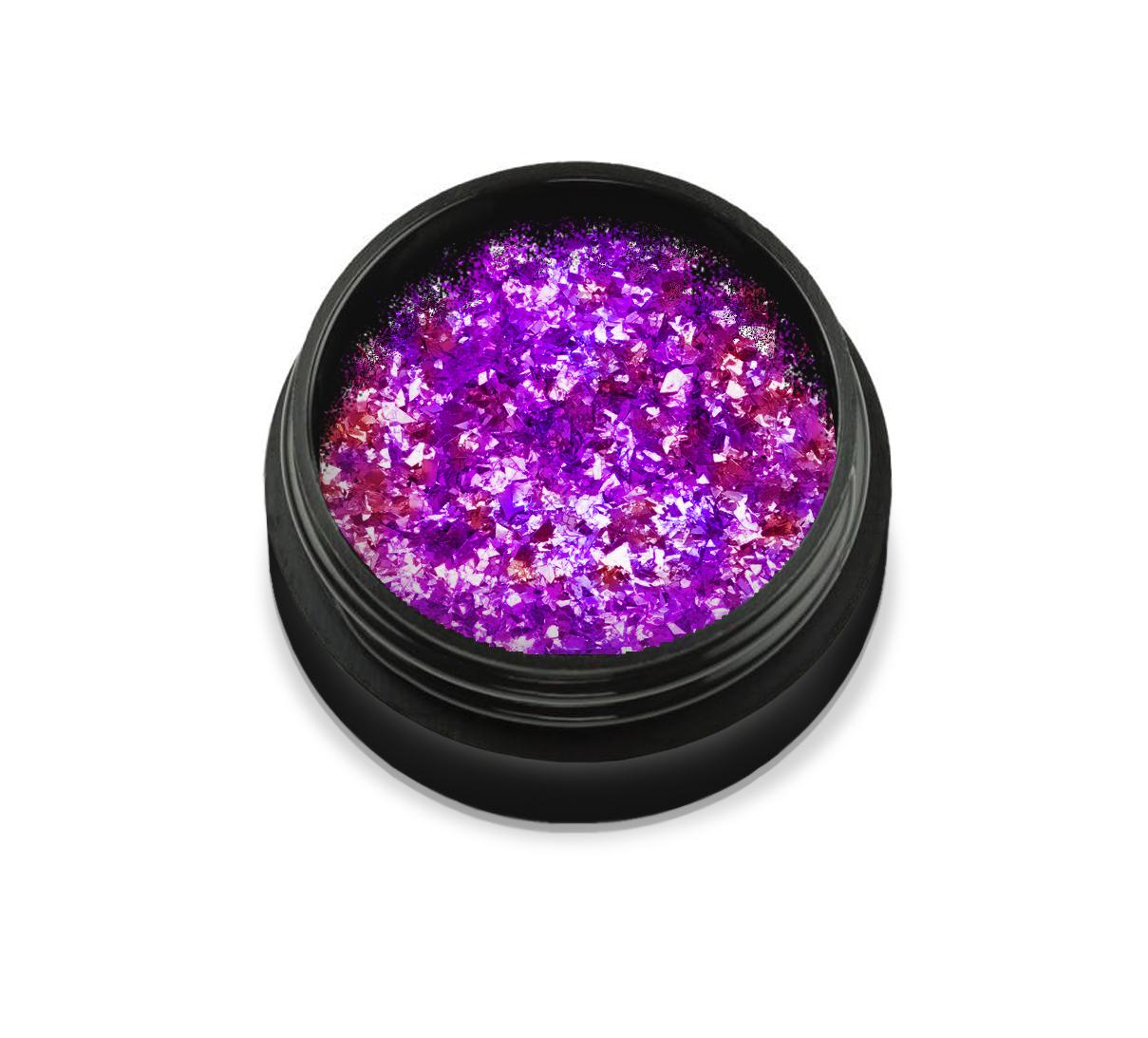 """KT-S9432 Fulgi de crom """"Didier Lab"""", royal violet 0,6gr/Chromaflakes """"Didier Lab"""" royal violet"""