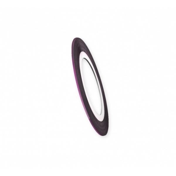 "Modele pentru unghii ""Didier Lab"", 0.8mm, violet/NAil art tape ""Didier Lab"", 0.8mm, violet"