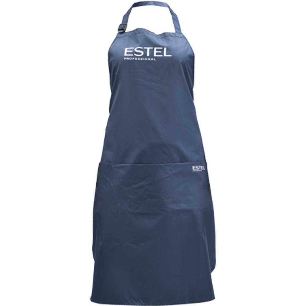 Sort coafor cu buzunare aplicate cu logo Estel