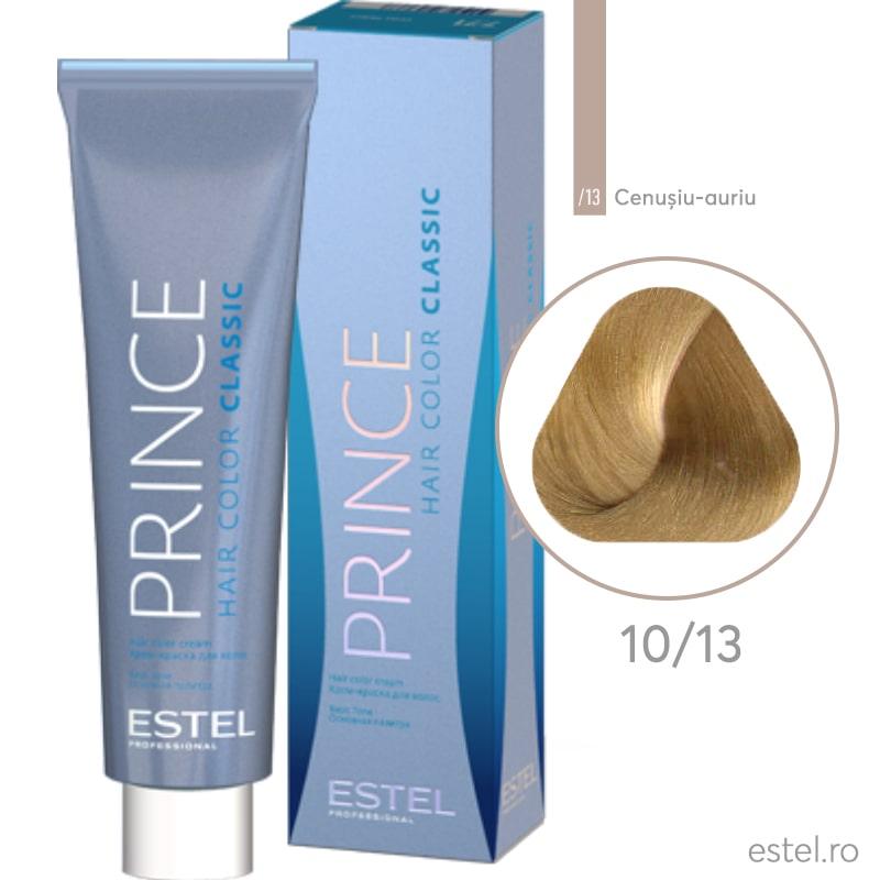 Prince Vopsea permanenta pentru par 10/13 Blond foarte deschis  cenusiu-auriu 100 ml