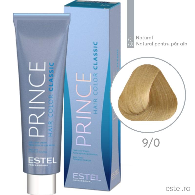 Prince Vopsea permanenta pentru par 9/0 Blond 100 ml