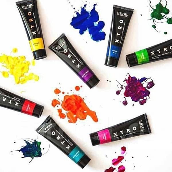 XTRO Pigment cu actiune directa pt par Roz 60 ml