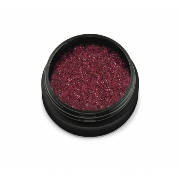 "96801Sclipici pentru unghii ""Didier Lab"", deep red 2,5g/Mail glitter ""Didier Lab"", deep red"