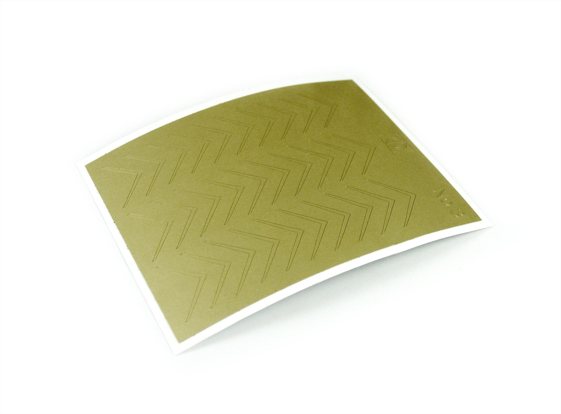 "Stiker pentru unghii ""Didier Lab"" , Nr3, gold/Nail art sticker ""Didier lab"", No3,gold"