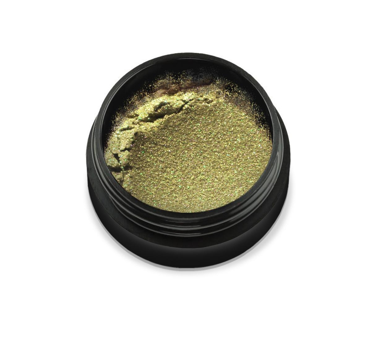 """6011 Pudra cu pigmenti 'Didier Lab"""",olive yellow 2,5g/Pigment powder 'Didier Lab"""",olive yellow"""