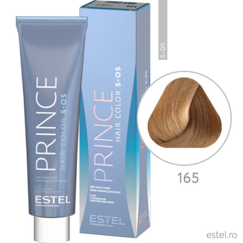 Prince S-OS Vopsea permanenta pentru par 165 Super-blond violet-rosu 100 ml