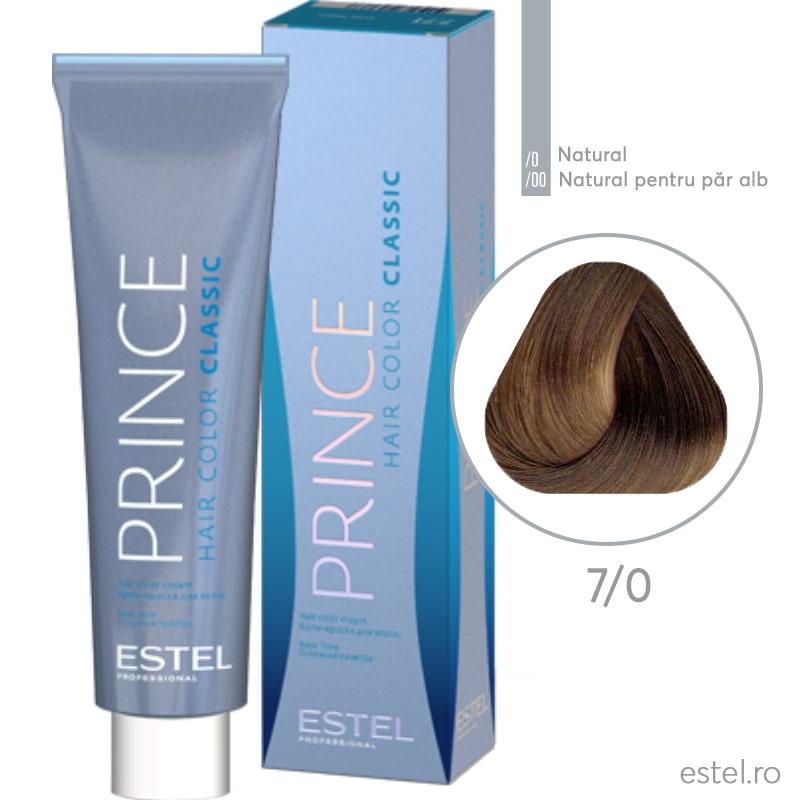 Prince Vopsea permanenta pentru par 7/0 Blond mediu 100 ml