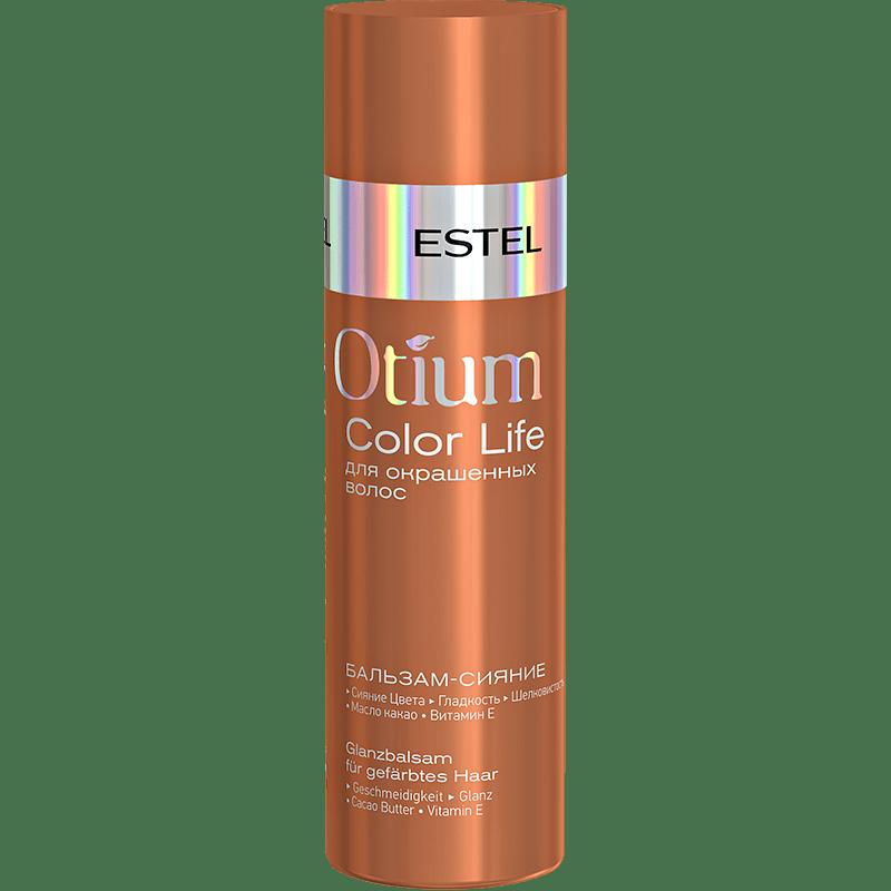 Estel Otium COLOR LIFE Balsam-stralucire pentru parul vopsit 200 ml