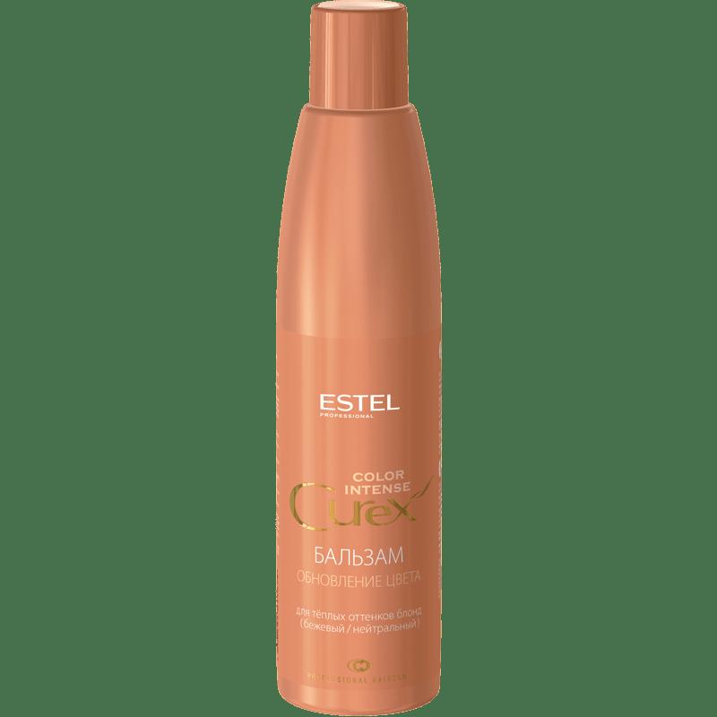 CUREX COLOR INTENSE Balsam-innoirea culorii pentru nuante calde de blond (bej/neutru) 250 ml