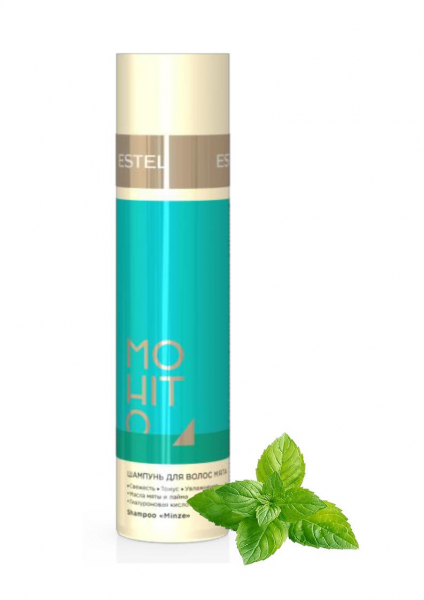 M/S250 Sampon pentru par - menta  ESTEL MOHITO (250 ml)