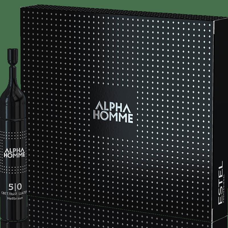 ESTEL Alpha Homme Vopsea pentru par blond Alpha Homme 7/0 10 ml