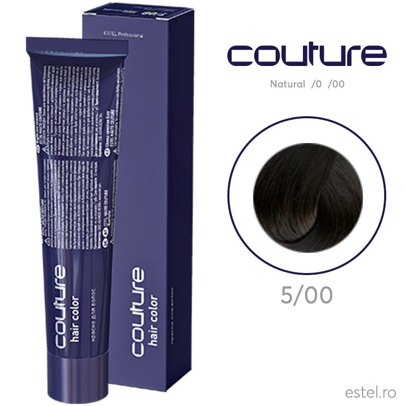 Vopsea permanenta pentru par Haute Couture 5/00 Saten deschis pentru par alb 60 ml