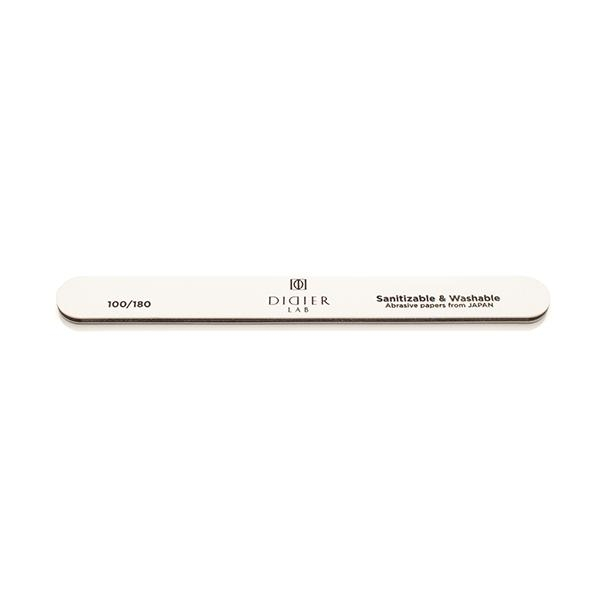 Didier Lab Pila pentru unghii,dreapentrua,alba rapida,100/180/Nail file,straight,speedy white