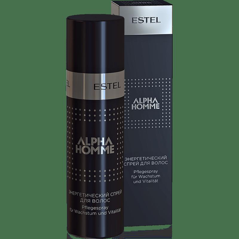 ALPHA HOMME Spray energetic pentru par 100 ml