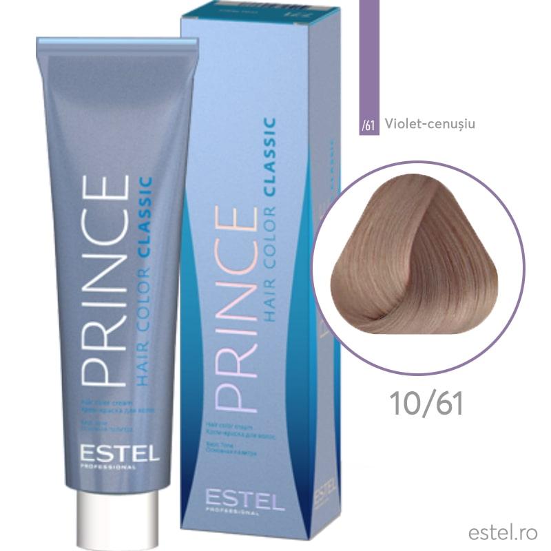 Prince Vopsea permanenta  pentru par 10/61 Blond foarte deschis violet-cenusiu