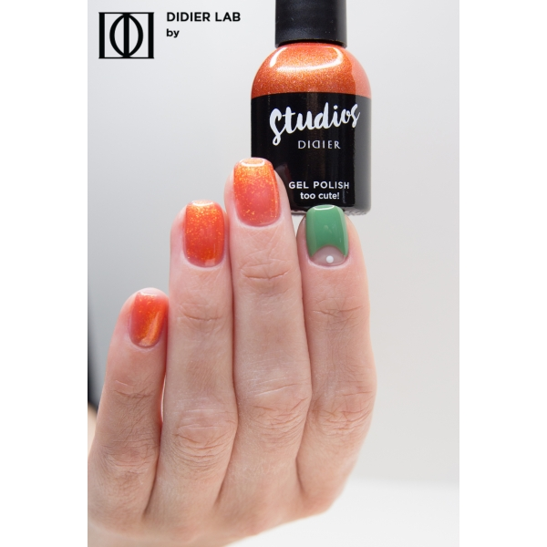 Gel lac semipermanent pentru unghii Didier Lab Studios - Too cute!/Gel Polish Studios - Too cute! , 8 ml