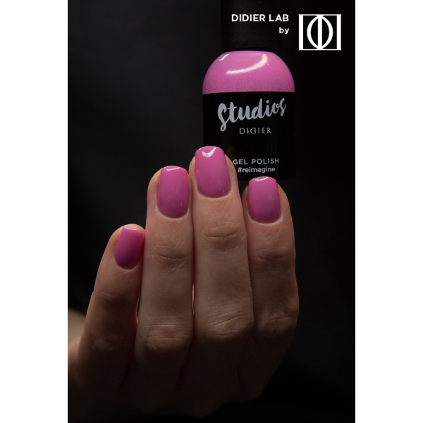 Gel lac semipermanent pentru unghii Didier Lab Studios - #reimagine/Gel Polish Studios - #reimagine, 8 ml