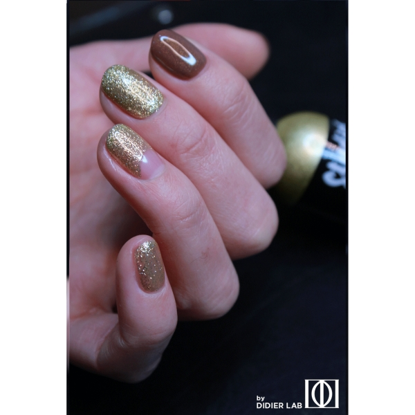 Gel lac semipermanent pentru unghii Didier Lab Studios - Sparkle/Gel Polish Studios - Sparkle , 8 ml