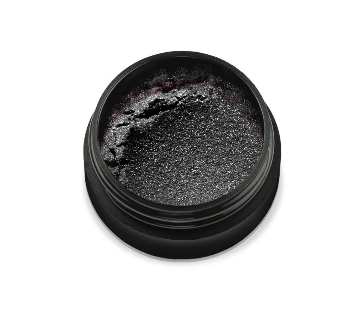 "66K1 Pudra cu pigmenti 'Didier Lab"", silver black 2,5g/Pigment powder 'Didier Lab"", silver black"