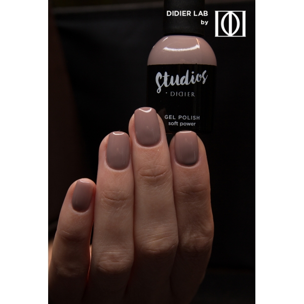 Gel lac semipermanent pentru unghii Didier Lab Studios - Soft power/Gel Polish Studios - Soft power,, 8 ml