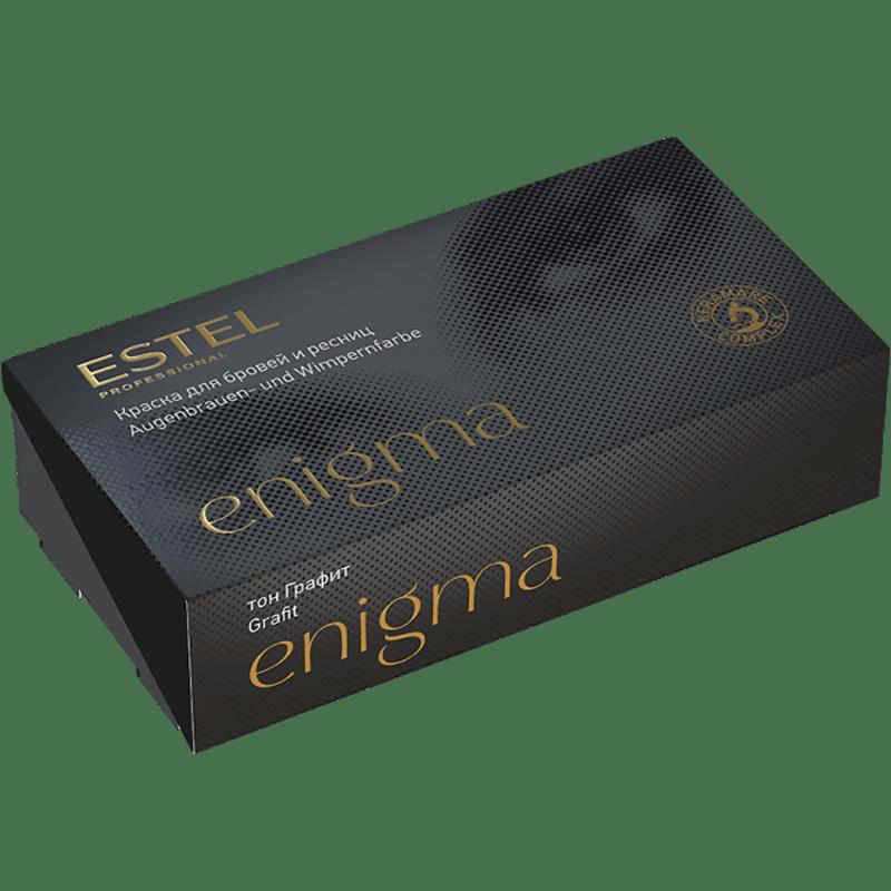 ENIGMA Vopsea pentru sprancene si gene - Grafit, 20*20 ml