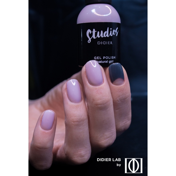 Gel lac semipermanent pentru unghii Didier Lab Studios - Natural girk/Gel Polish Studios - Natural girk, 8 ml