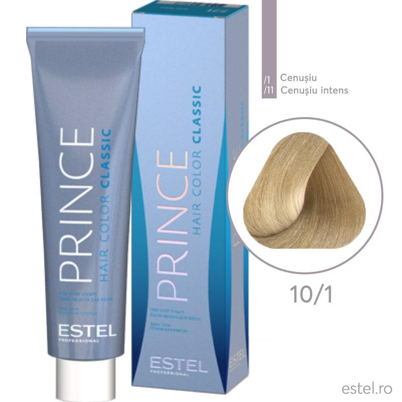 Prince Vopsea permanenta pentru par 10/1 Blond foarte deschis cenusiu 100 ml