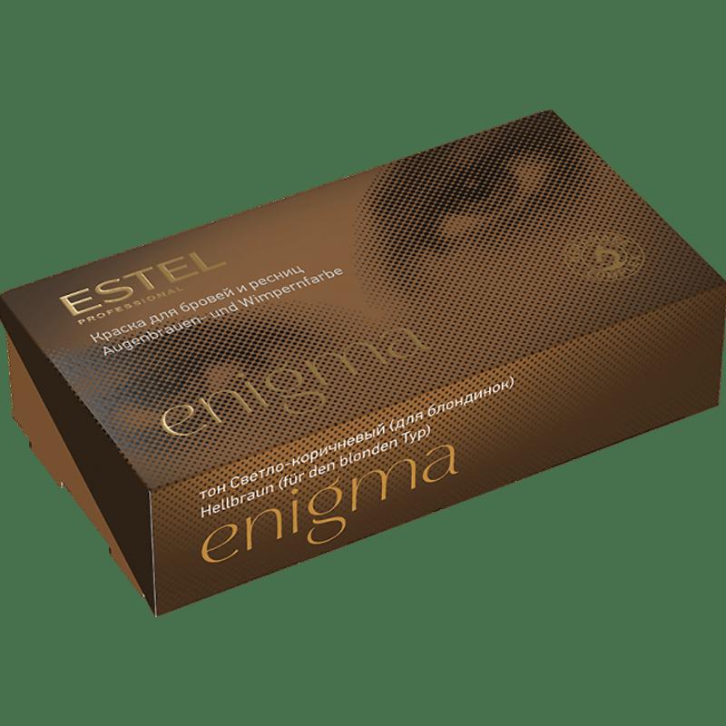 ENIGMA Vopsea pentru sprancene si gene - Maro deschis (blonde) 20*20 ml