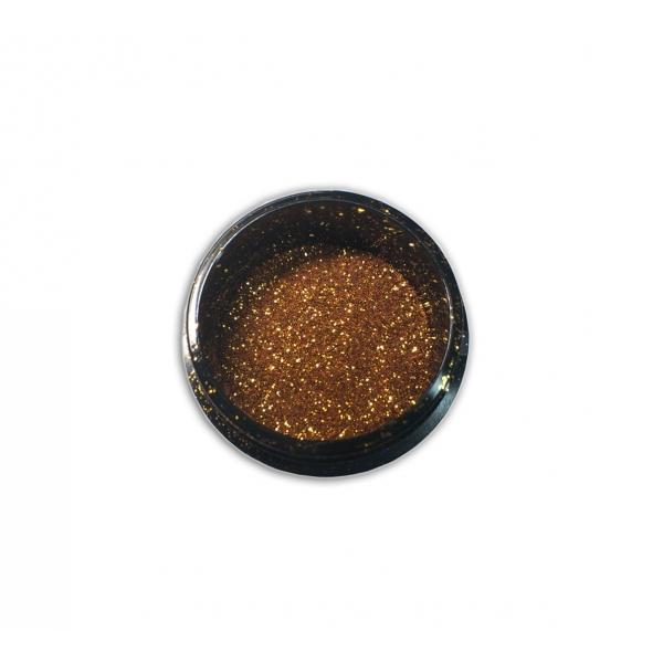 """96106Sclipici pentru unghii """"Didier Lab"""", bronze gold 2,5g/Nail glitter """"Didier Lab"""", bronze gold"""
