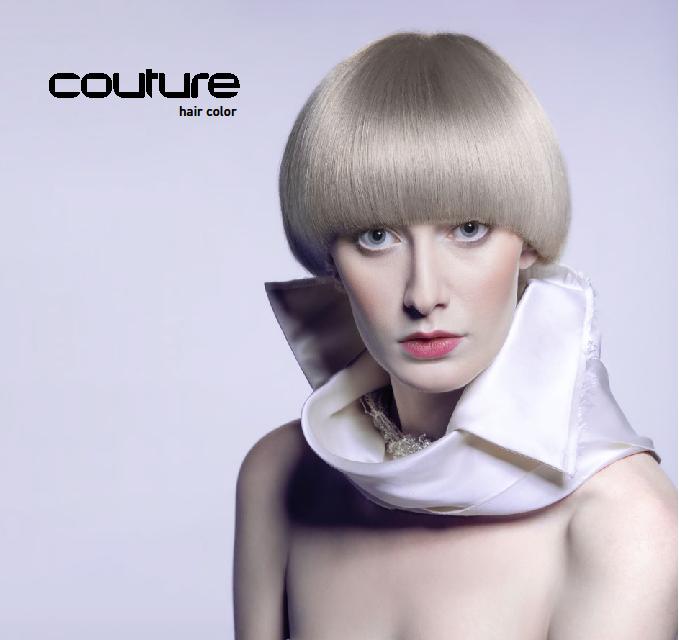 Vopsea permanenta pentru par Blond Bar Couture BBC/17 Blond gri-maro 60 ml