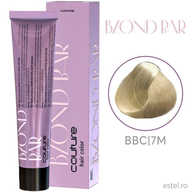 Vopsea permanenta pentru par Blond Bar Couture BBC/7M Modulator de culoare 60 ml