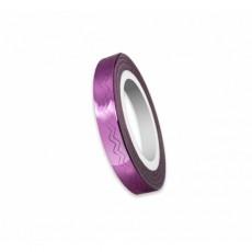 "Modele val pentru unghii ""Didier Lab"", 6mm, pink/Nail art wave tape ""Didier Lab"", 6mm, pink"