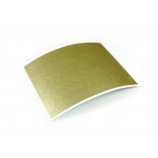 "Stiker pentru unghii ""Didier Lab"", Nr7, gold/Nail art sticker ""Didier lab"", No7,gold"