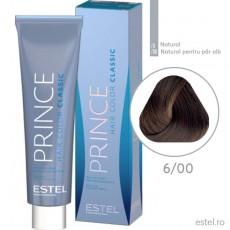 Prince Vopsea permanenta pentru par 6/00 Blond inchis pentru par alb 100 ml