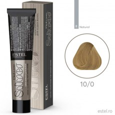 Vopsea permanenta de par De Luxe SILVER 10/0 Blond foarte deschis 60 ml