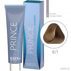 Prince Vopsea permanenta pentru par 8/1 Blond deschis cenusiu 100 ml