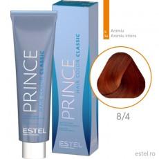 Prince Vopsea permanenta pentru par 8/4 Blond deschis aramiu 100 ml