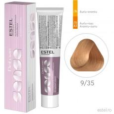 Vopsea semipermanenta de par De Luxe Sense 9/35 Blond deschis auriu-rosu 60 ml
