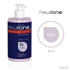 Masca nuantatoare  pentru păr Haute Couture NewTone 10/6 Blond deschis violet 435 ml