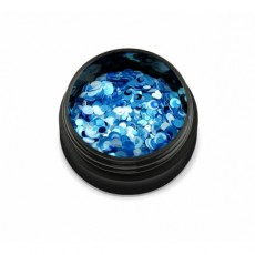 "Q04-104 Confeti ""Didier Lab"",  mix white/blue 2g"