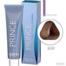 Prince Vopsea permanenta pentru par 8/61 Blond deschis violet-cenusiu 100 ml