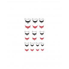 """Tatuaje pentru cuticulele unghiilor """"Didier Lab"""",  lady crown/Nail cuticle tattoos, lady crown"""