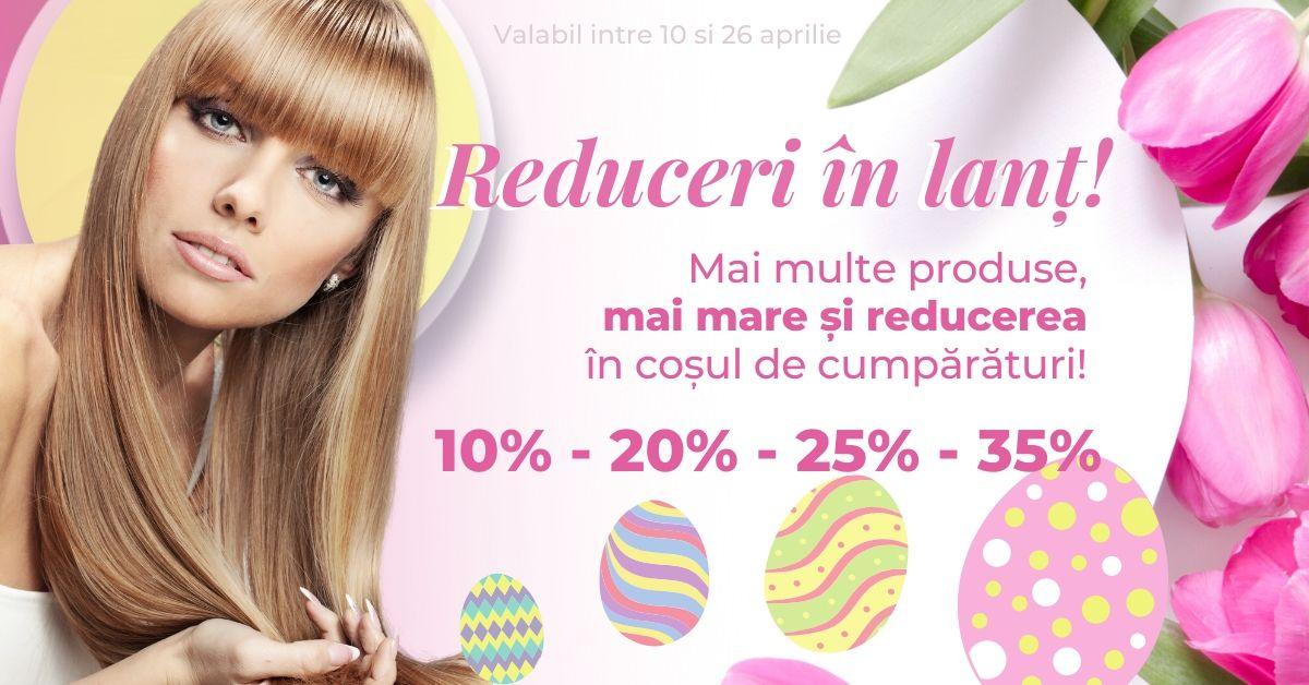 Cu mai multe produse în coș, ai reducere de până la 35%!