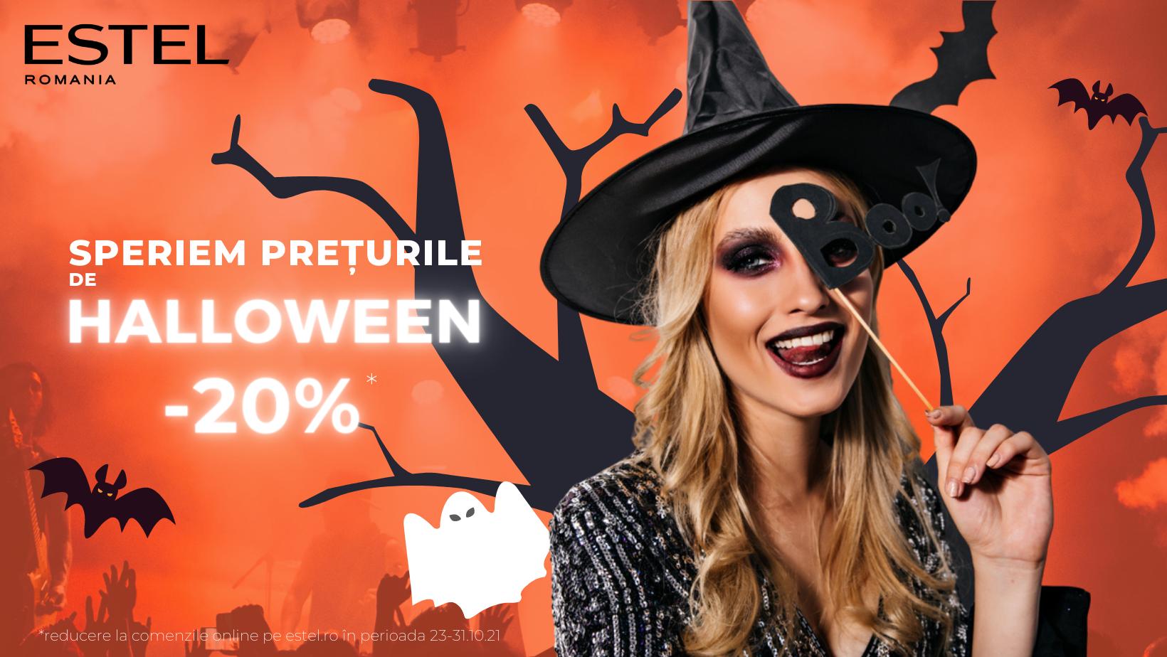 Boo! De Halloween speriem preturile la toate produsele!