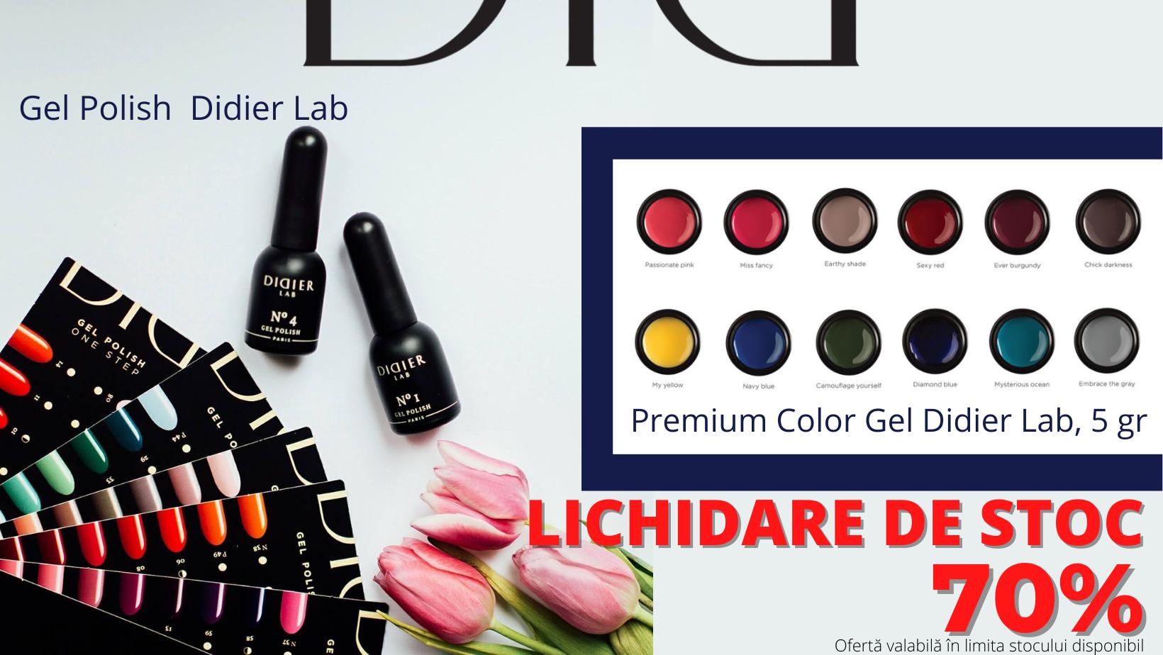Reducere -70% la unele produse Didier Lab