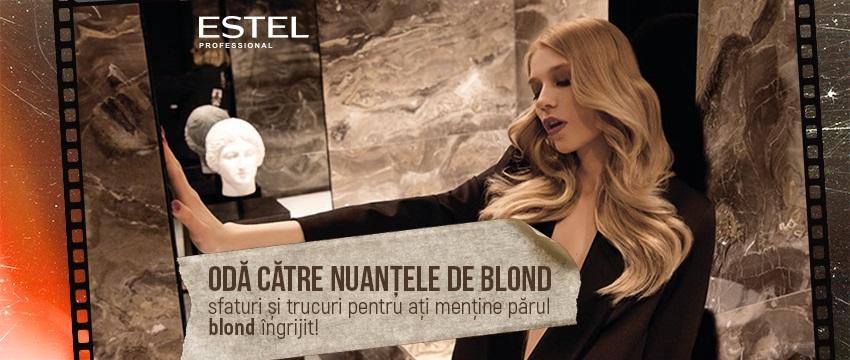 Odă către nuanțele de blond: sfaturi și trucuri pentru ați menține părul blond îngrijit