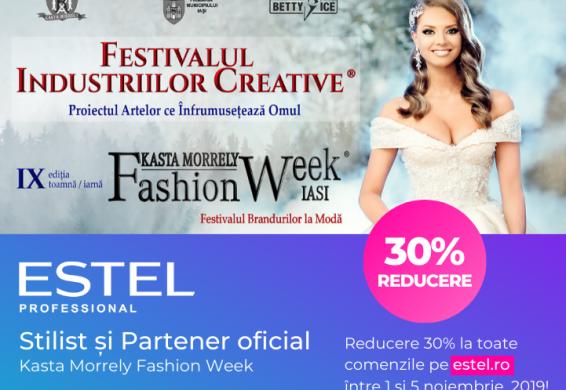 ESTEL Professional - Stilist și Partener oficial la Kasta Morrely Fashion Week